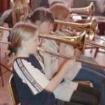 """Billede fra bogen """"orkesterskolen"""""""
