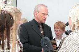 Ulf Nordlund med elever